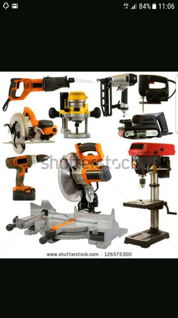 WANTED power tools
