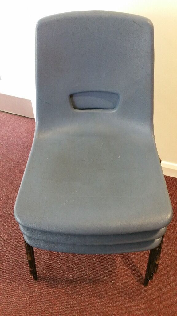 blue plastic chairs in south norwood london gumtree