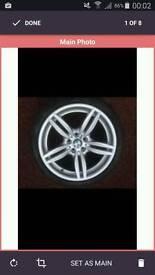 Alloy wheel refurbishment. Wow! Soecial offer