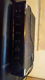 HARMAN/KARDON HK 6100 AMPLIRIER and SONY speakers