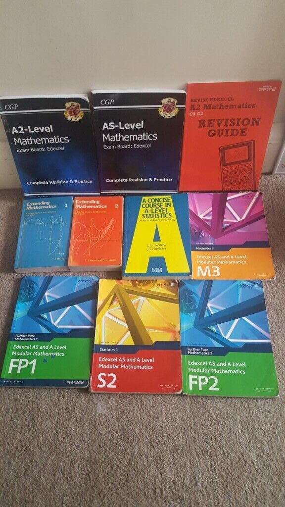 A-Level Mathematics Maths Statistics Books lot | in Portsmouth, Hampshire |  Gumtree