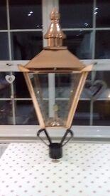 Outside lamp old design