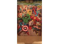 Superhero wall canvas
