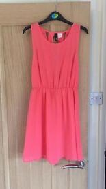 Pink H&M dress size 12