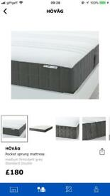 Ikea king size mattress hardly used (got a smaller bed)