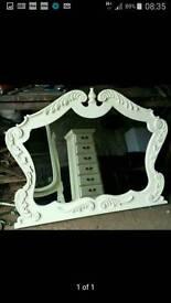 Vintage cream victorian furniture