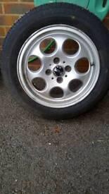 "Mini R53 wheel and tyre 15"""