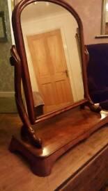 Mirror. Elegant freestanding antique mirror