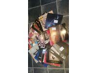 15 old vinyl records