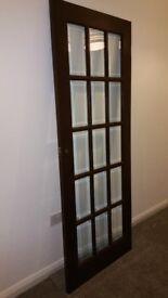 Free internal white 6 panel door + Internal Glass Panel Door for sale