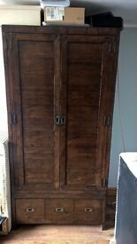 Baker and Stonehouse Wardrobe Solid Reclaimed wood