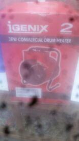 Commerisal drum heater used twice