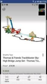 Thomas and Friends sky high bridge jump
