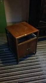 Bedside Vinyl Cabinet