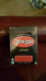 Captain scarlet complete set dvd