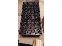Soakaway crate. Brand new. Unused. 1m x 0.5m x 0.4m. £40.