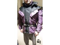 Motorcycle Jacket + Trousers + Gloves bargain