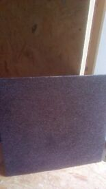 20x carpet tiles black