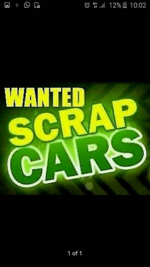 Scrap cars and vans wanted top cash paid same day service | in ...