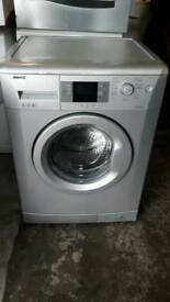 Silver BEKO washing machine 7kg 1400