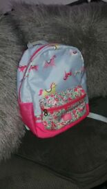 Joules bag and coat age 7 years