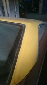 Peugeot 306 Roadster Yellow Hard Top Roof
