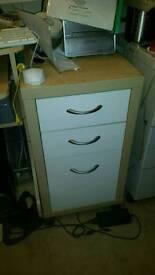 Single unit filing drawers