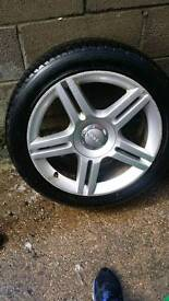 235/45/17 audi/vw alloys and tyres