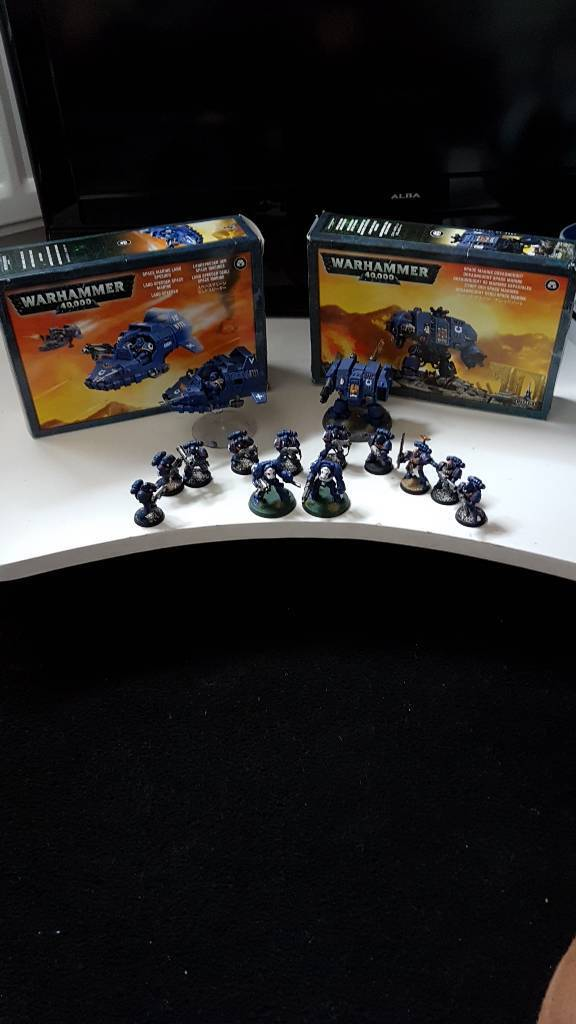 War hammer 40k space marines