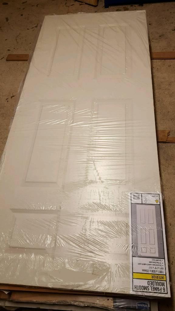 Brand new 838 6 panel door