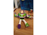 Interactive Buzz Lightyear.