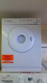 HOTPOINT 4kg Tumble Dryer new ex display which may have minor marks or blemishes.