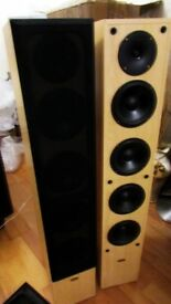 REAL HI-FI ELTAX 430 CENTURY SPEAKERS 160 WATTS FLOORSTANDERS GLASGOW COLLECTION