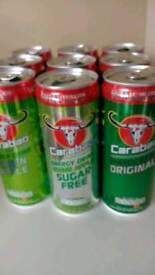 Carabao energy drinks £3 per case 12 cans per case