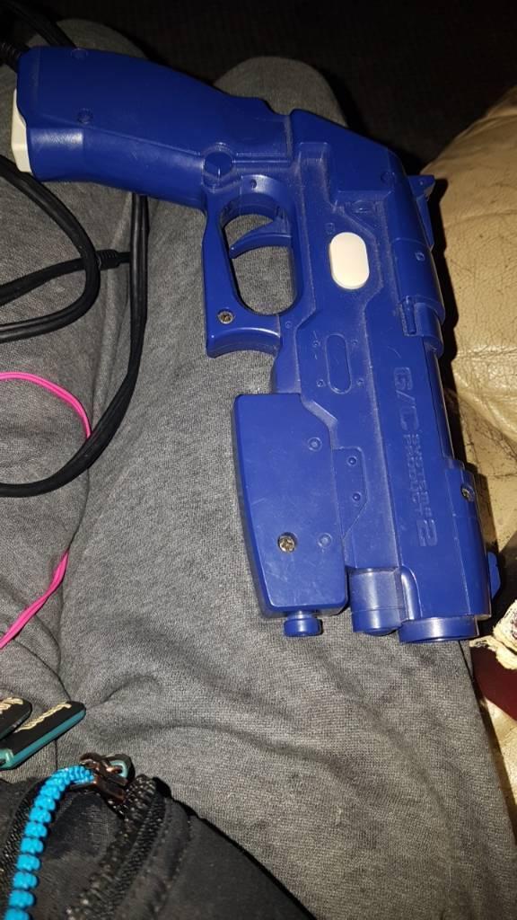 Playstation 1 gunin Chopwell, Tyne and WearGumtree - Purple Namco gun works fine