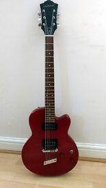 DeArmond M-65, Coral red right hand, six string electric