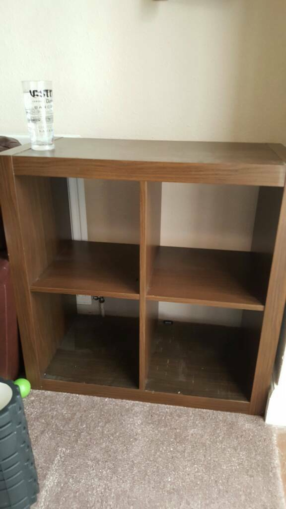 ikea kallax 2x2 brown shelving unit in gosport hampshire gumtree. Black Bedroom Furniture Sets. Home Design Ideas