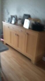 Modern Oak Sideboard. Excellent condition