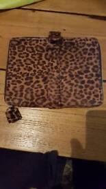 Animal print iPad case
