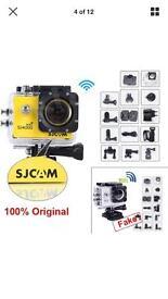 Genuine SJCAM 4000 HD DV WIFI Sports camera.