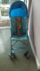 Mothercare tigger buggy