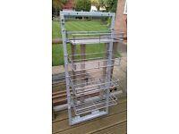 Slide out wire basket larder unit