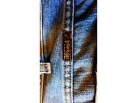 Mens wrangler jeans used size 36 waist
