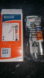 Draper 130cc pistol type grease gun! New boxed Got 12 each 12 or all for 90£ Can deliver or post