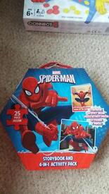 Spider-Man puzzle no story book or stickers just the puzzle 25peice
