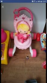 Vetec doll and pram