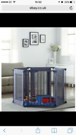 Lindam safe and secure fabric playpen with matt