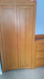 Cosatto Arlo - wardrobe +changer - honey pine