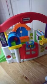 Little tikes/tykes activity house/garden