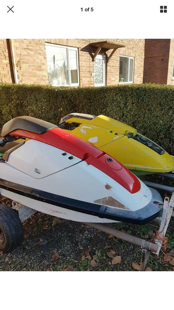 Double stand up jet ski trailer | in Cardiff City Centre ...